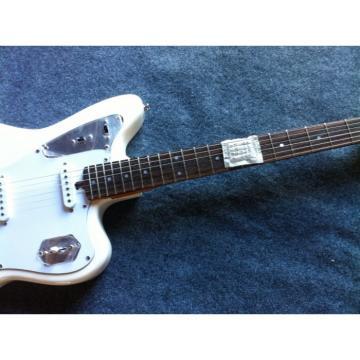 Custom Shop Fender 6 Strings Mustang White Electric Guitar