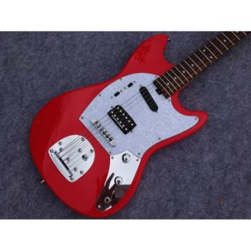 Custom Shop Fender 6 Strings Mustang Red Electric Guitar