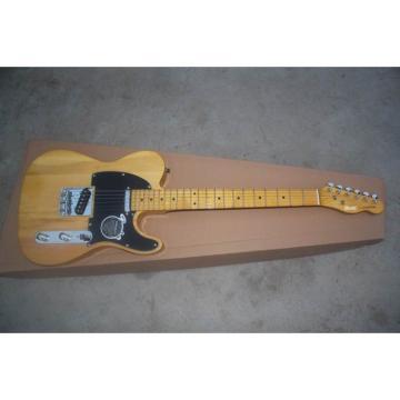 Custom Shop Fender Natural Wood Electric Guitar