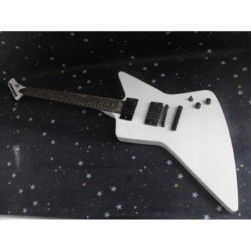 Custom Shop Explorer ESP Korina White Electric Guitar