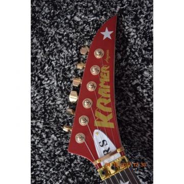 Custom Shop EVH Kramer Metallic Burgundy Electric Guitar