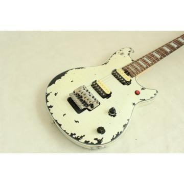 Custom Shop EVH Peavey Electric Guitar Relic Vintage White