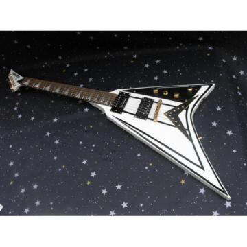 Custom Shop ESP White Black Electric Guitar