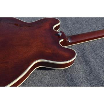 Custom Shop ES335 Curly Walnut LP Electric Guitar