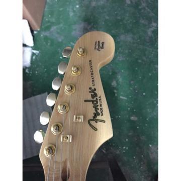 Custom Shop Eric Johnson White Fender Stratocaster Electric Guitar