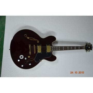 Custom Shop Country Gents Brown BB King Electric Jazz Guitar
