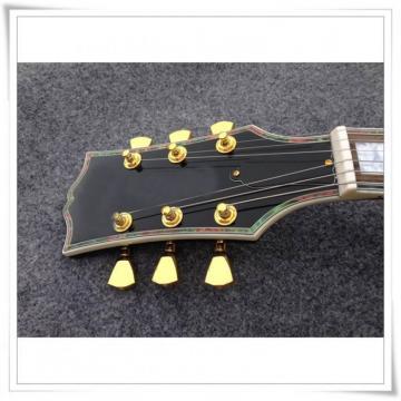 Custom Shop Byrdland LP Black Sunburst Electric Guitar