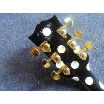 Custom Shop Black Polkadots LP Electric Guitar
