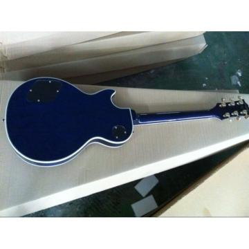 Custom Shop Blue Flame Maple Top  Ace Frehley Electric Guitar