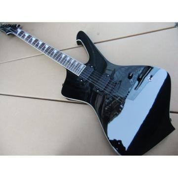 Custom Shop Black Ibanez Electric Guitar