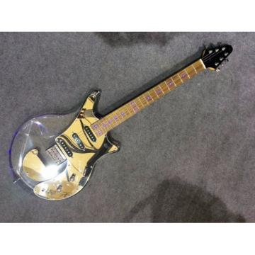 Custom Shop Acrylic Plexiglass Red Brian May LED Electric Guitar