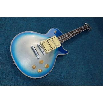 Custom Shop Ace Frehley Maple Blue LP 6 String Electric Guitar