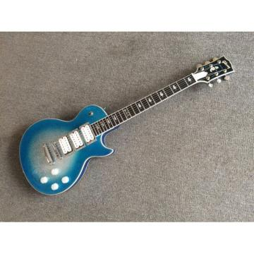 Custom Shop Ace Frehley Robot Silver Dust Extended Blue LP Electric Guitar
