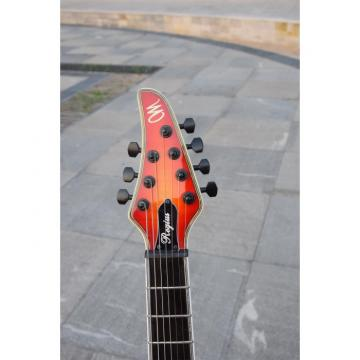 Custom Shop 7 String Sunburst 7 Ply Neck Through Electric Regius Guitar