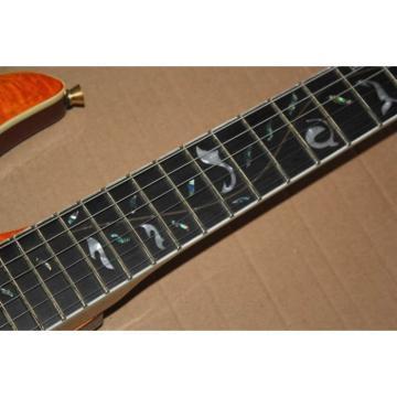 Custom Shop 3 Pickups Orange Pensa Floyd Rose Electric Guitar