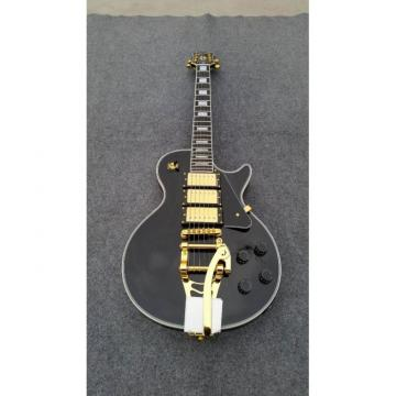 Custom Shop 3 Pickup Bigsby Black Beauty Electric Guitar