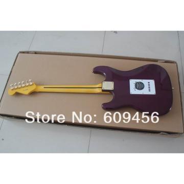Custom Purple Fender Ehsaan Noorani Stratocaster Electric Guitar