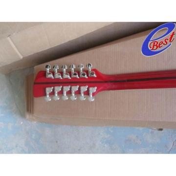 Custom Rickenbacker 330 12 Strings Sun Burst Electric Guitar