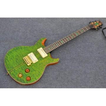 Custom PRS Paul Reed Smith Green Wave Electric Guitar