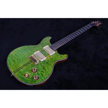 Custom PRS Paul Reed Smith Green Quilted Maple Top Electric Guitar