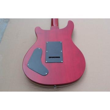 Custom PRS 24 Frets Fire Red Electric Guitar