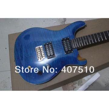 Custom PRS 22 Frets Blue Wave Electric Guitar
