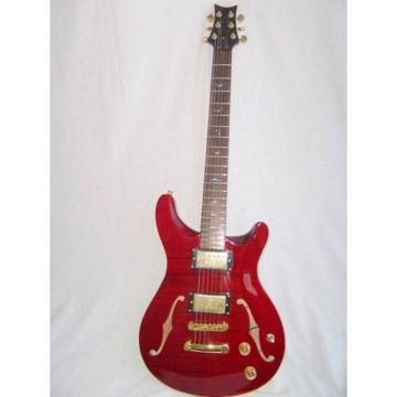 Custom Paul Reed Smith Red Fhole Electric Guitar