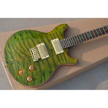 Custom Private Stock PRS Green Flame Maple Top Electric Guitar