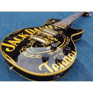 Custom Patent Jack Daniel's 6 String Electric Guitar