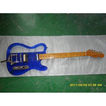 Custom Made Logical Acrylic Blue Telecaster Style Electric Guitar