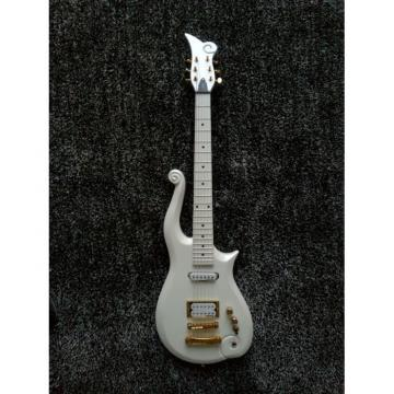 Custom Made White Prince 6 String Cloud Electric Guitar Left/Right Handed Option