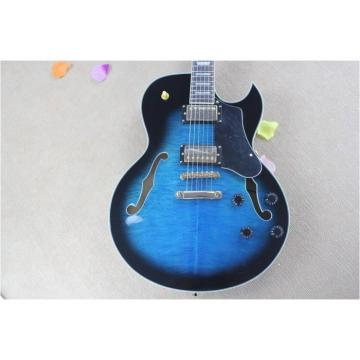 Custom guitarra ES137 Blue Burst Electric Guitar
