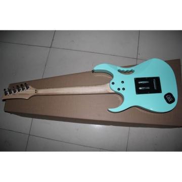 Custom JEM 7V Electric Guitar Sea Foam Green Vine Inlay