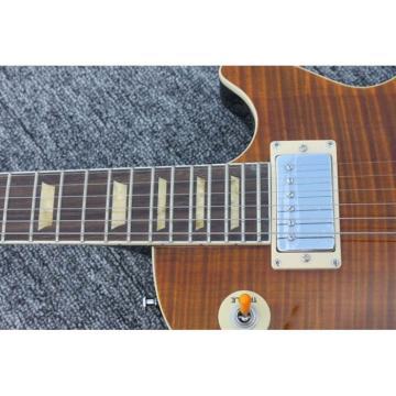 Custom Joe Perry Boneyard Electric Guitar Aged Tiger Bigsby Tremolo
