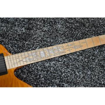 Custom Ken Lawrence James Hetfield Sunburst Electric Guitar Maple Fretboard