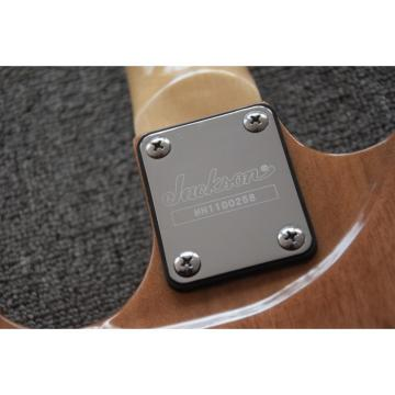 Custom Jackson Soloist Yellow Electric Guitar