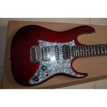Custom Ibanez Burgundy Steve Vai Jem 7V Electric Guitar