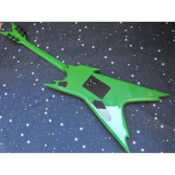 Custom Green Dime Razorback Dean Electric Guitar