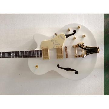 Gretsch 6120 Falcon Bigsby Jazz White Guitar