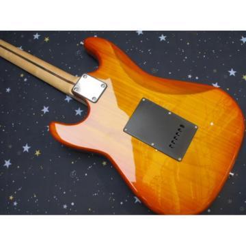 Custom Golden Fender Stratocaster Electric Guitar