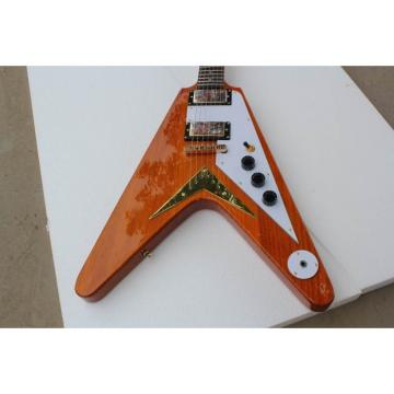 Custom Firehawk Natural Electric Guitar 1958 Korina Flying V