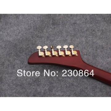 Custom Firebird Burl Explorer Electric Sunburst Guitar