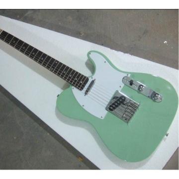 Custom Fender Telecester Cyan Electric Guitar