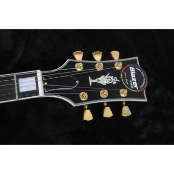Custom Classic L5 Jazz Hollow Body Byrdland Electric Guitar Sunburst