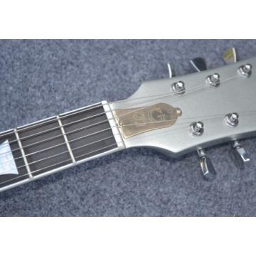 Custom Chrome Plate Color SG Angus Young Electric Guitar