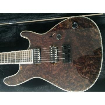 Custom Built Mayones Regius 7 String Electric Guitar Birds Eye Wenge Neck