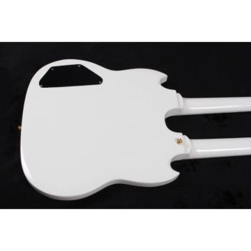 Custom Build Don Felder EDS 1275 SG Double Neck Arctic White Electric Guitar
