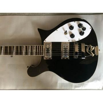 Custom Black Rickenbacker 620 Electric Guitar