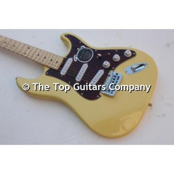 Custom American Fender Yellow Electric Guitar