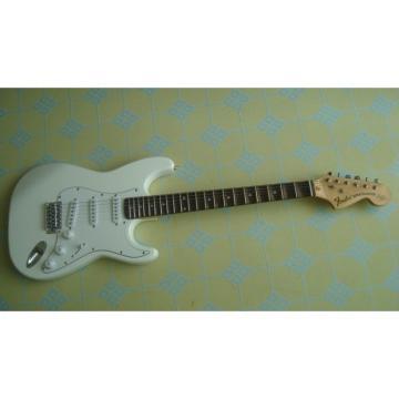 Custom American Fender White Electric Guitar